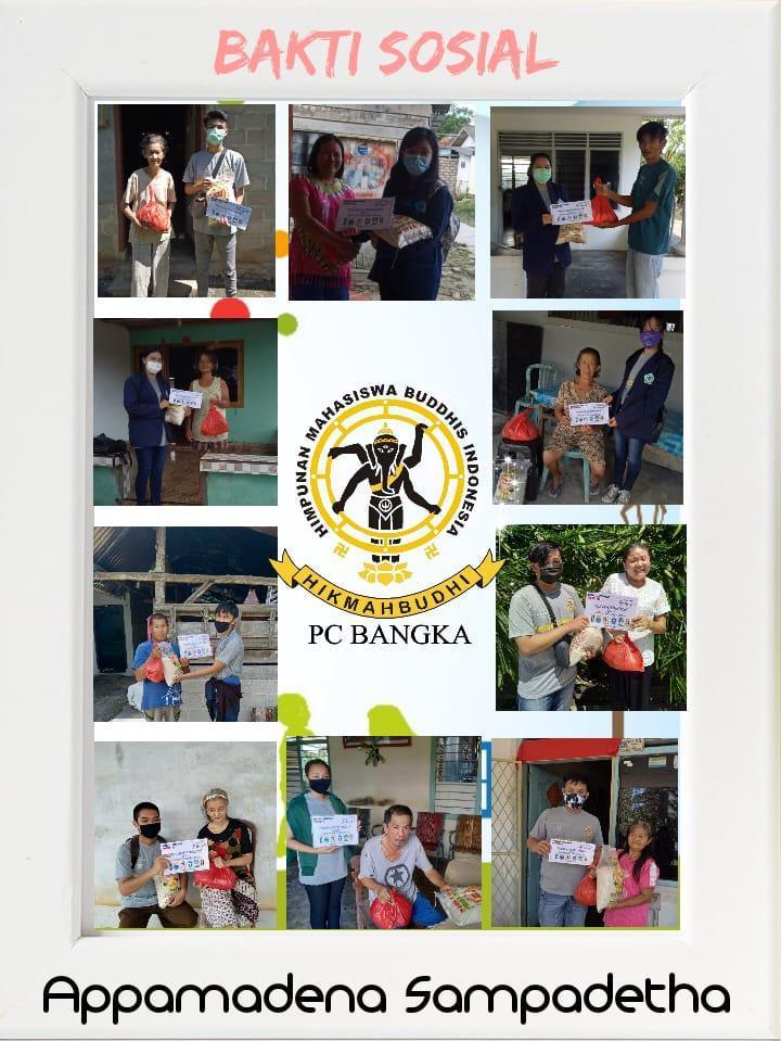 PC Hikmah Budhi Bangka Ikut Memerangi Covid-19, Sebanyak 2.000 Paket Sembako Mulai Dibagikan