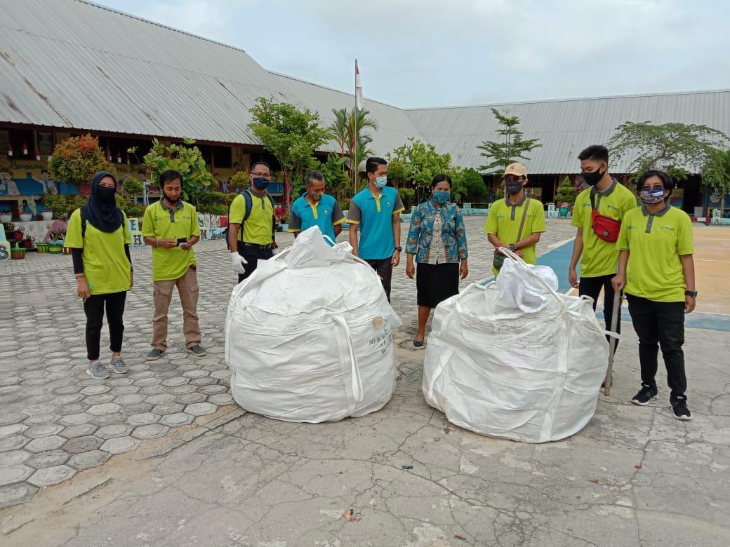 Peduli Kebersihan di Bangka Barat, PT Timah Dukung Pemuda Hijau