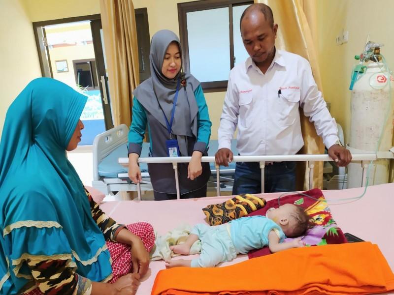 Yayasan Peduli Kemanusiaan Bantu Pasien Umur 9 Bulan Penderita Jantung Bocor