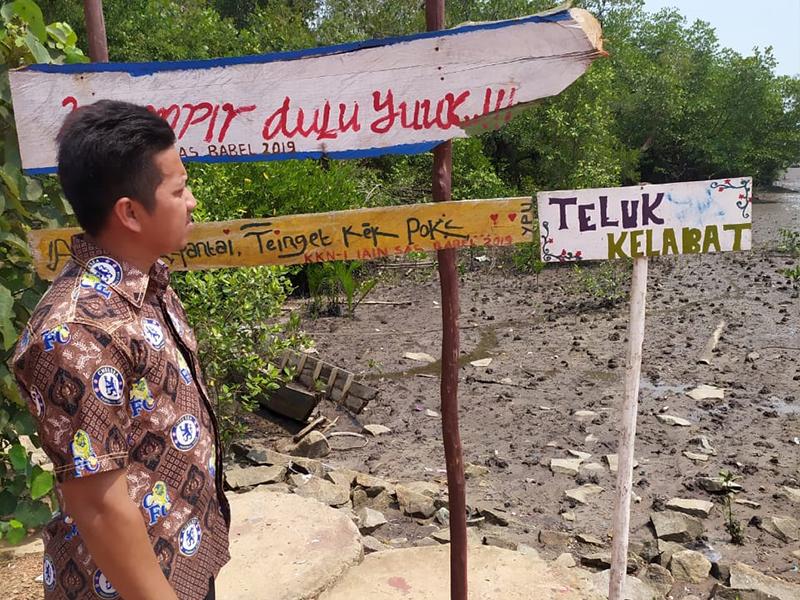 Pemdes Pusuk Kelola Mangrove menjadi Destinasi wisata