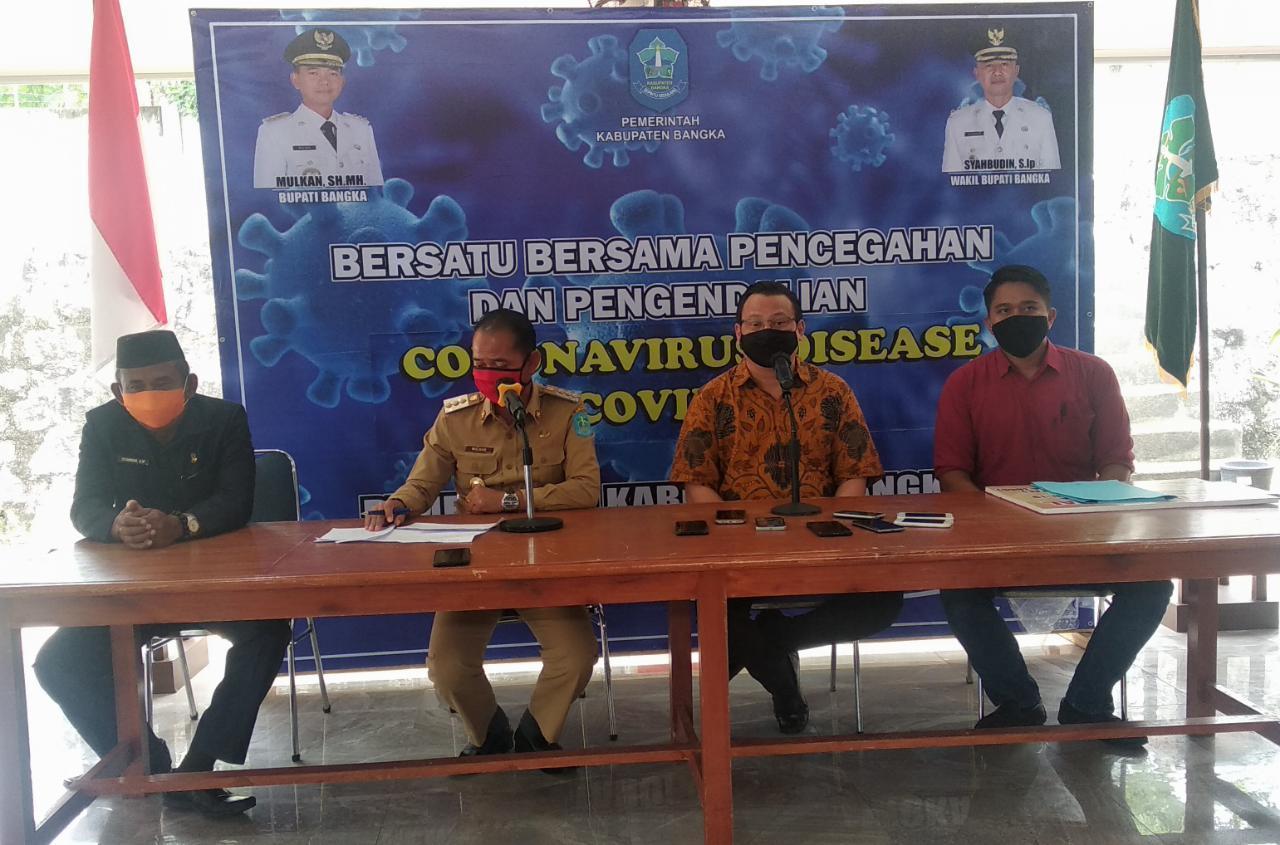 Pemerintah Kabupaten Bangka Terima Bantuan APD dari BKBB dan PT. FAL