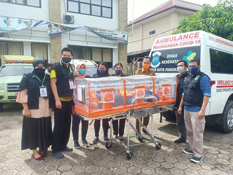 Pemkot Pangkalpinang Punya Mobil Ambulance Khusus Pasien Covid-19