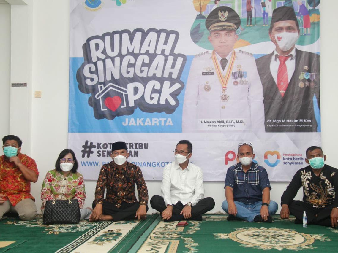 Pemkot Pangkalpinang Resmikan Rumah Singgah di Jakarta