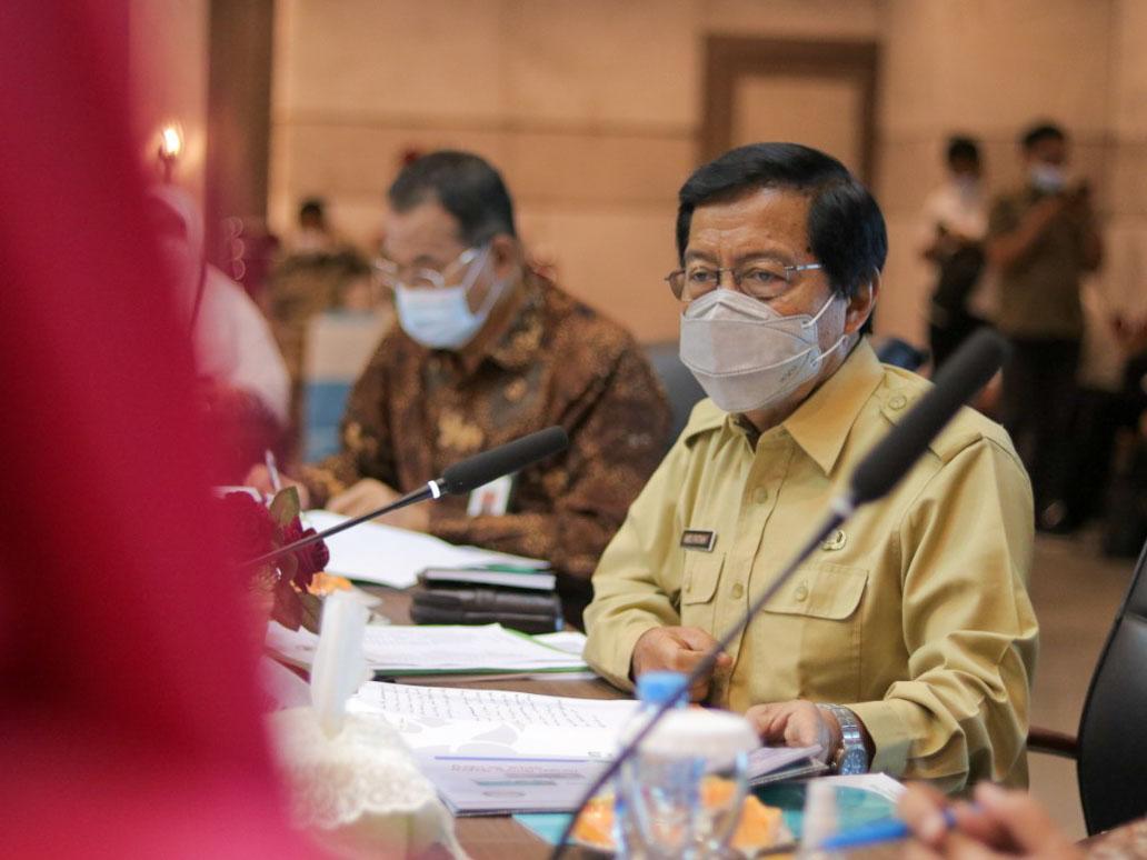 Pemprov Babel Sampaikan Kondisi Kesehatan dan Ketenagakerjaan kepada Komisi IX DPR RI