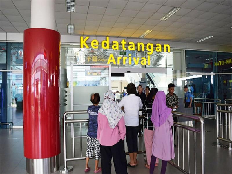 Pemudik Mulai Padati Bandara Depati Amir Pangkalpinang