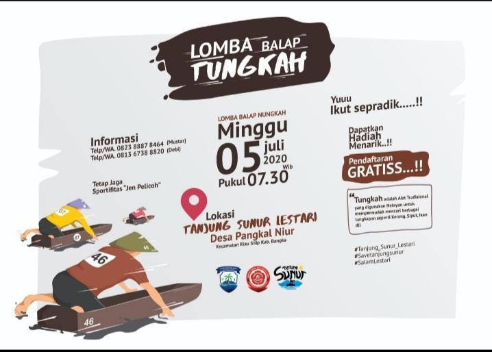 Penasaran dengan Festival Betungkah? Yo Datang ke Tanjung Sunor Desa Pangkal Niur