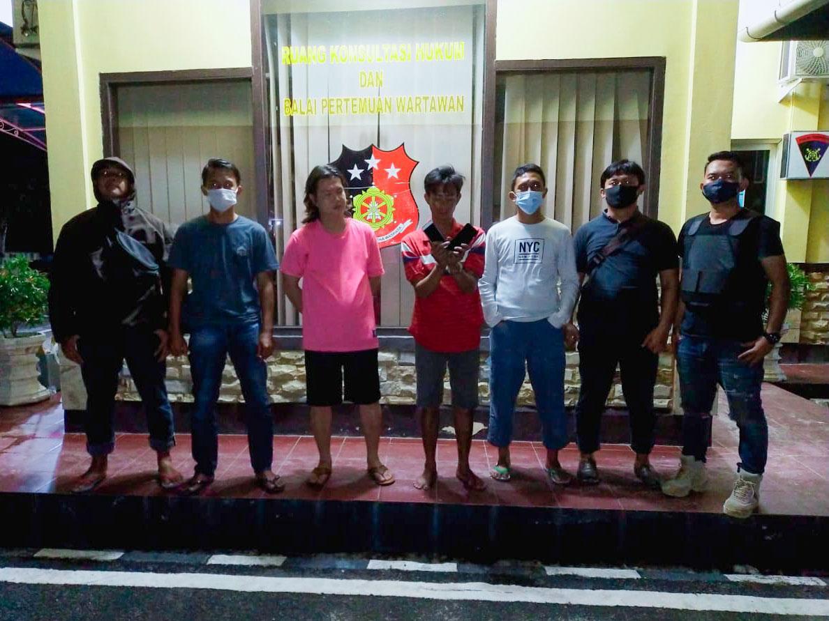 Pencuri Ponsel dan Penadah Diringkus Satreskrim Polres Bateng