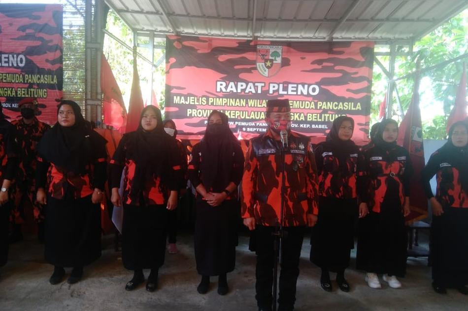 Pengurus MPW PP Babel Gelar Rapat Pleno Pasca Meninggalnya Ketua Anshori