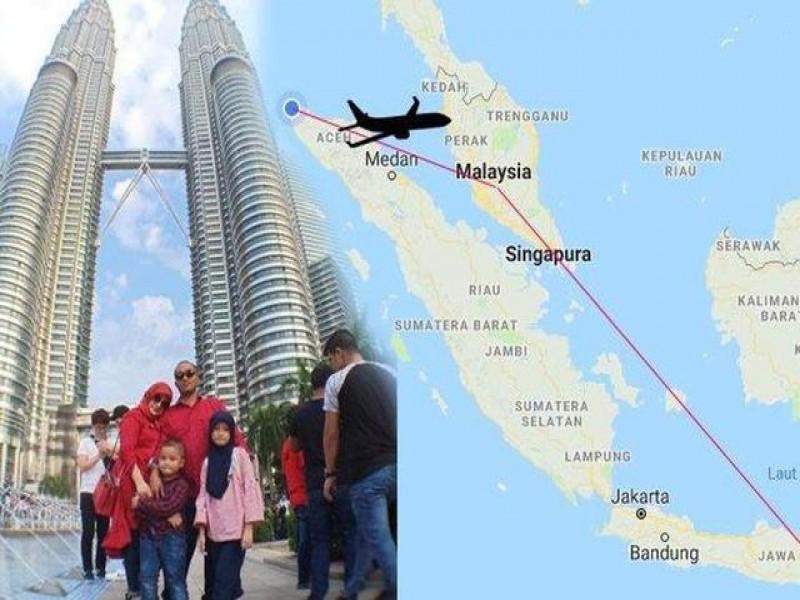 Pergi-Pulang Banda Aceh-Surabaya via Kuala Lumpur, Keluarga Ini Berhasil Hemat Rp32 Juta, Ini Cerita Lengkapnya