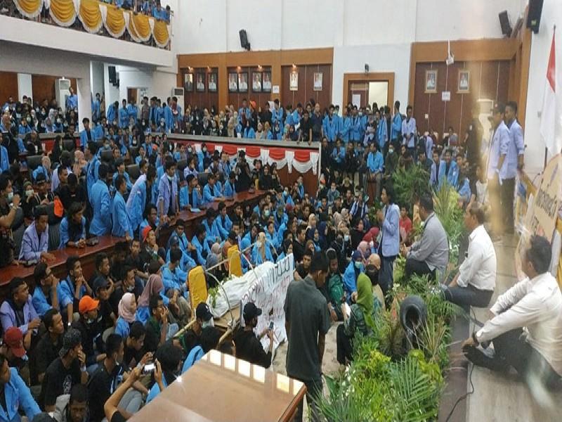 Peringatan Hari Tani Nasional, Ini Tuntutan Mahasiswa Babel ke Gubernur