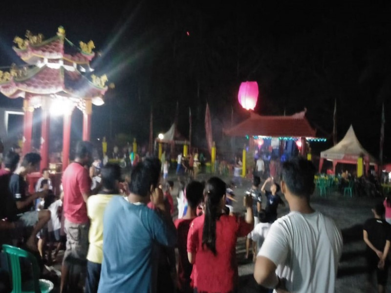 Peringati Hari Lahir Pak Kung, Honda Hibur Masyarakat Desa Pelangas