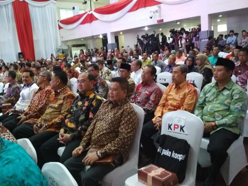 Peringati Harkordia di KPK, Gubernur Ingatkan ASN Kerja Sesuai Aturan Hukum