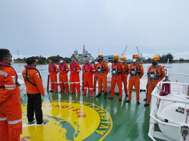 Pesawat Sriwijaya Air Jatuh, Basarnas Pangkalpinang Berangkatkan Kapal Menuju Kepulauan Seribu