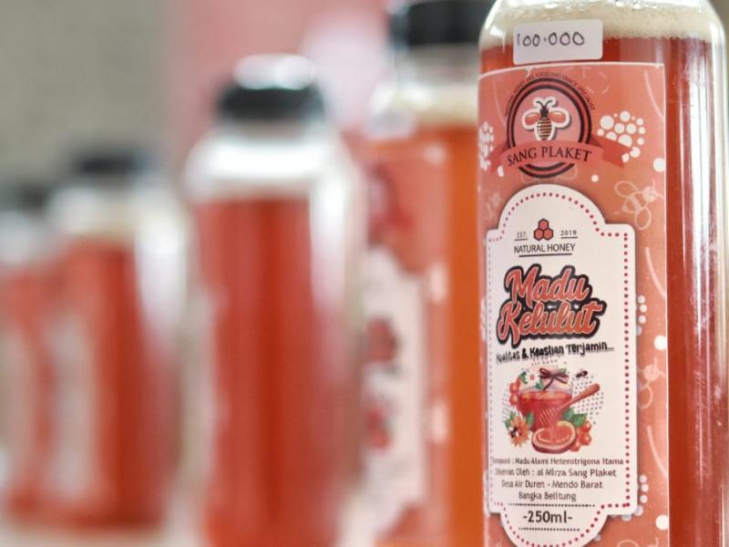 Salah satu contoh produk minuman yang tersedia