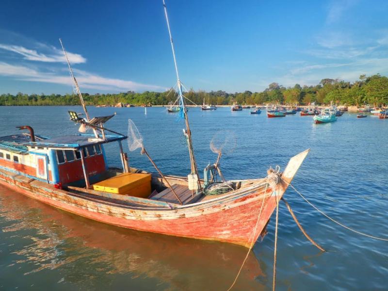 Pantai Batu Kapur, Kelurahan tanjung ketapang, Kecamatan Toboali, Kabupaten Bangka Selatan.
