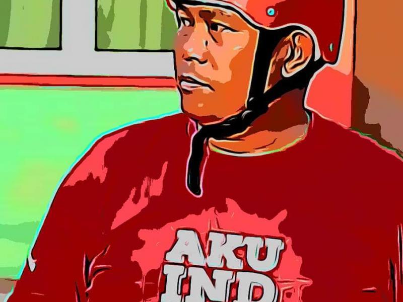 Ketua PMI Bangka Selatan, MM Iskandar. (Ist)