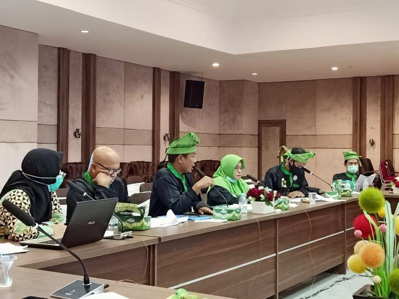 DPW Lemtari Kepulauan Bangka Belitung melaksanakan Rapat Kerja Wilayah (Rakerwil) I Tahun 2020, di Ruang Pasir Padi Kantor Gubernur Provinsi Kepulauan Bangka Belitung, di Air Itam Pangkalpinang, Sabtu (5/12/2020). (dok Humas Lemtari Babel