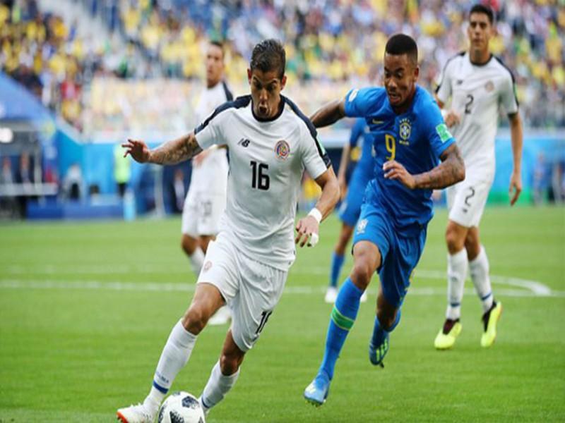 Piala Dunia 2018: Dua Gol di Masa Injury Time, Brasil Tekuk Kosta Rika 2-0