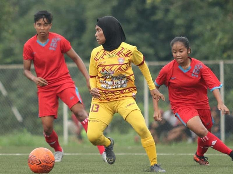 Piala Pertiwi 2019 : Dikandaskan Sumsel, Tim Babel Raih Runner Up