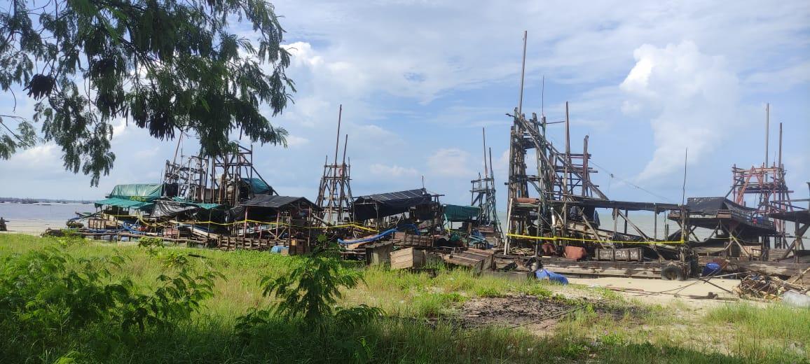 PIP Yang Masih Bekerja di Laut Toboali Masuk Kategori Illegal Mining
