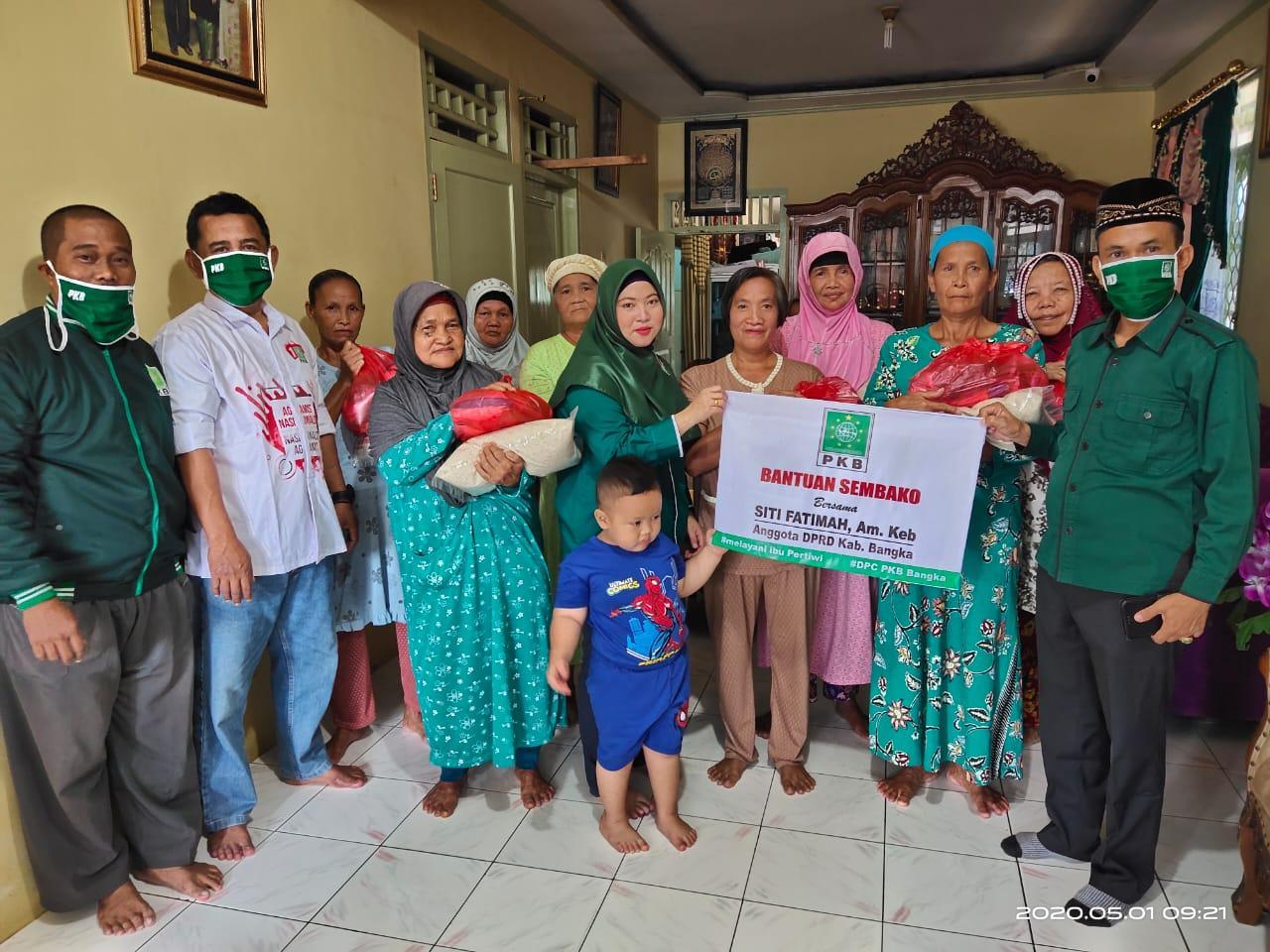 PKB Buktikan Kontrak Politik Dengan Rakyat: Bagi Sembako, Gelar Khitanan Hingga Suntik KB Gratis