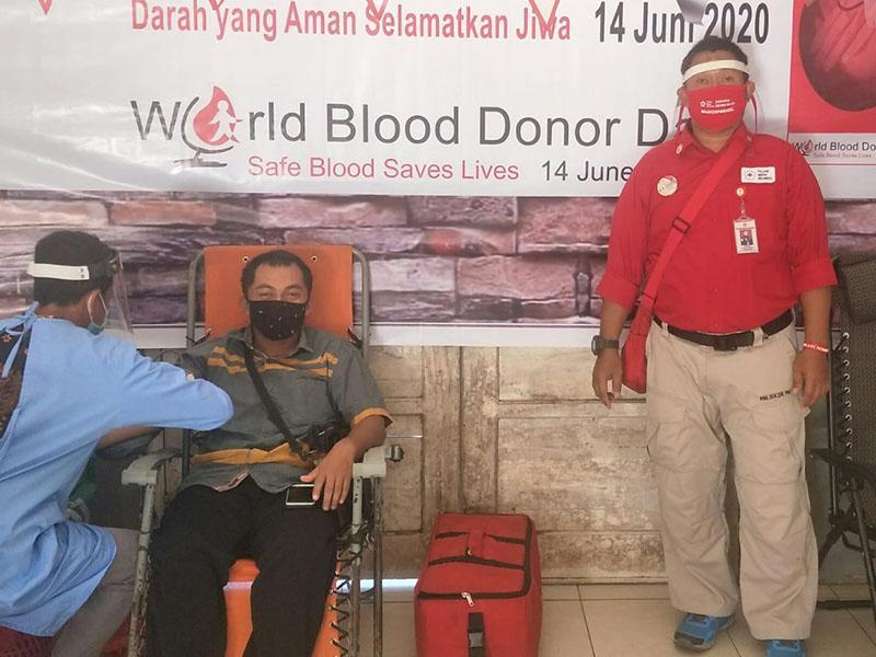PMI Basel Berhasil Kumpulkan 105 Kantong Darah Segar di Kecamatan Payung