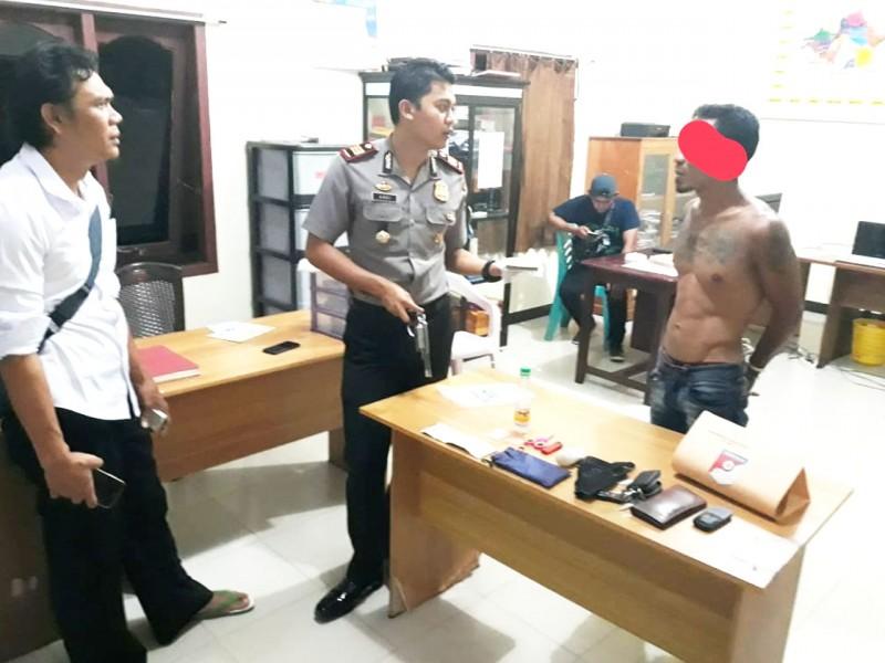Polisi Sita Senpi dan 18 Butir Peluru dari Pengedar Narkoba