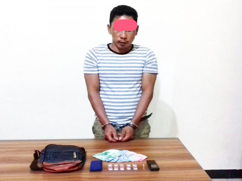 Polisi Tangkap Pemuda Pengedar Narkoba