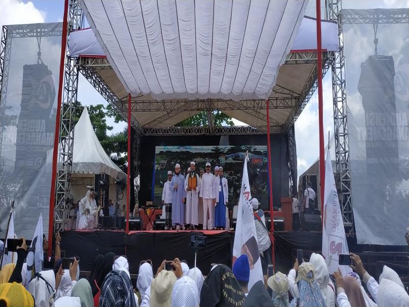 Prabowo Batal Sapa Langsung Pendukungnya di Bangka Belitung
