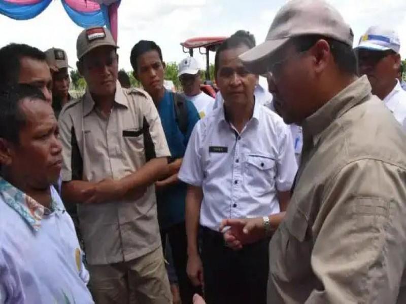 Produksi Padi Bangka Selatan Kurang 22 Persen, Staff Ahli Bupati Ajak Stakeholder Carikan Solusi