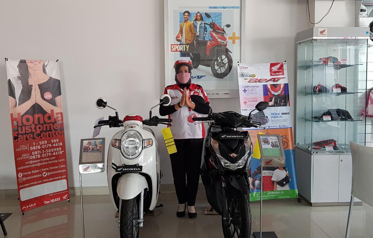 Promo Honda Beat, Genio dan Scoopy di Dealer Daya Motor Koba