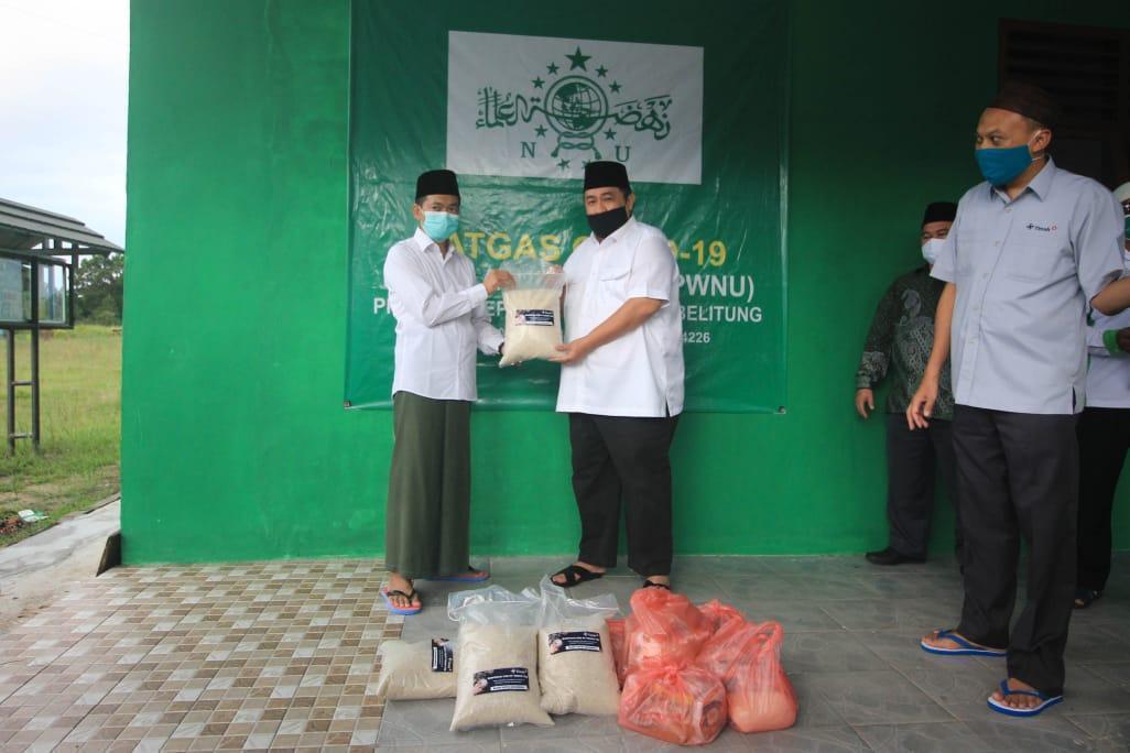 PT Timah Bagikan 20 Ribu Paket Sembako untuk Masyarakat Terdampak Covid-19