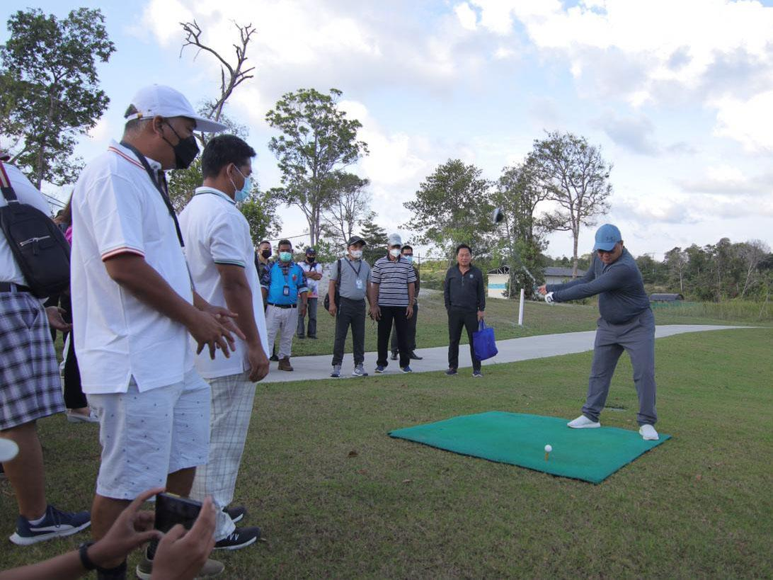 Pulihkan Pariwisata, Gubernur Buka Turnamen Golf Skala Nasional di Belitung