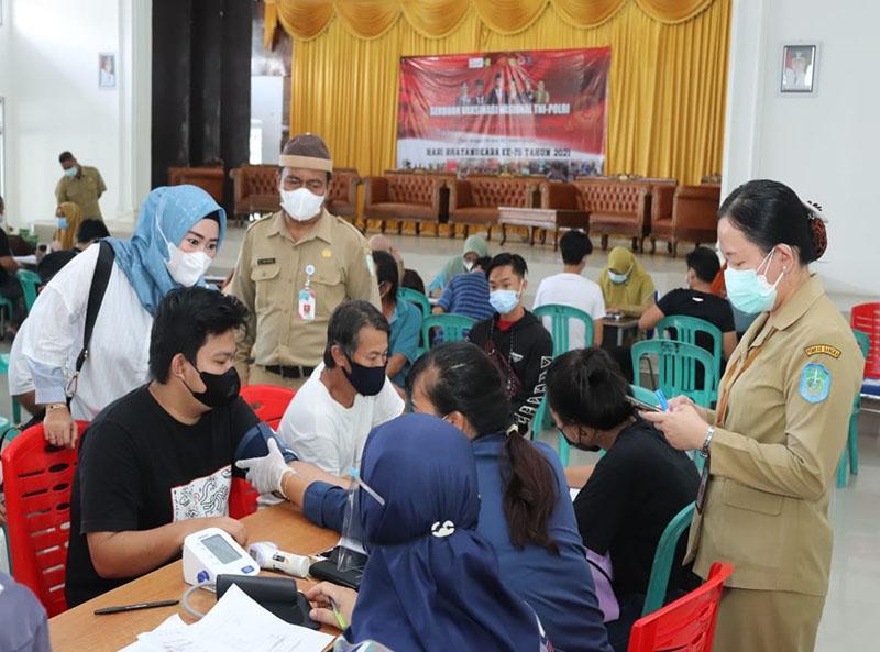 Puluhan Desa dan Kelurahan di Kabupaten Bangka Masuk Zona Merah