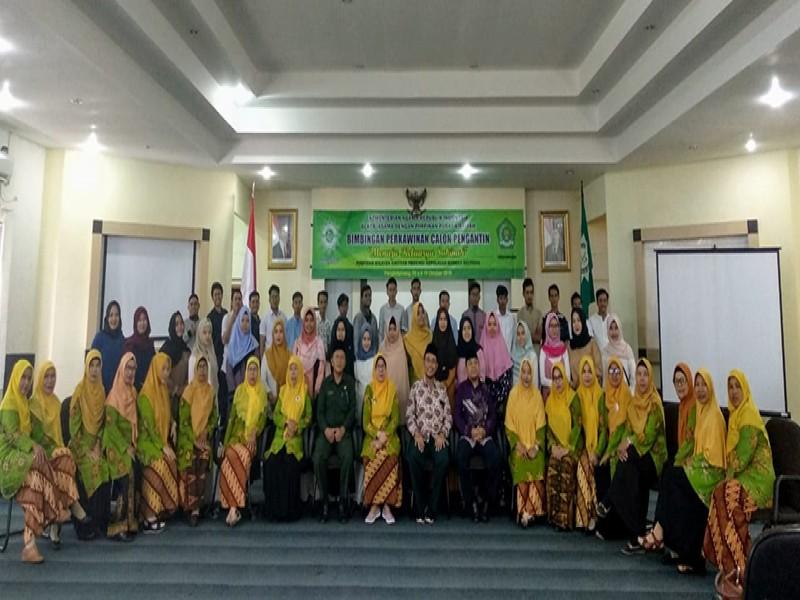PW 'Aisyiyah Babel Bina 25 Calon Pengantin Jadi Keluarga Sakinah