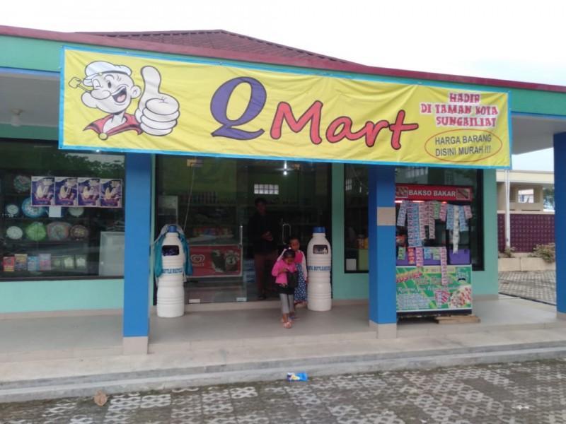 QMart Hadir di Titik Nol Kota Sungailiat