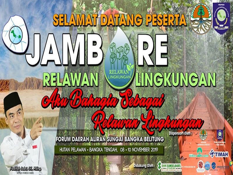 Ratusan Relawan Ramaikan Jambore Relawan Lingkungan