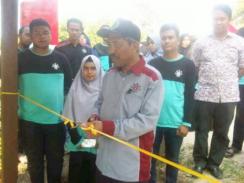 Rektor UBB Resmikan Tugu Peta Wisata Kota Kapur, M Yusuf Ingin Kota Kapur Mendunia