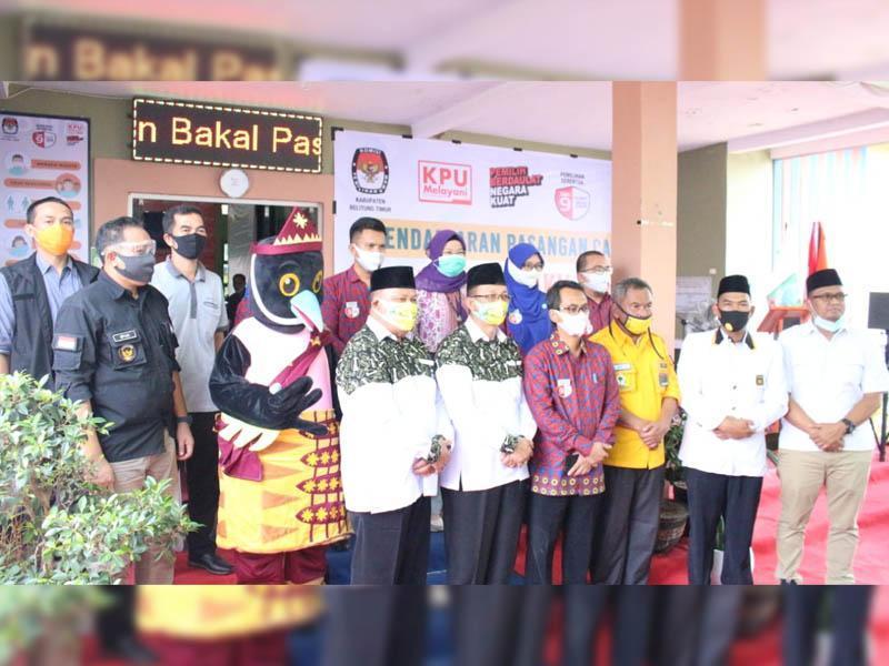 Resmi, Dua Paslon Akan Bertarung di Pilkada Serentak Belitung Timur