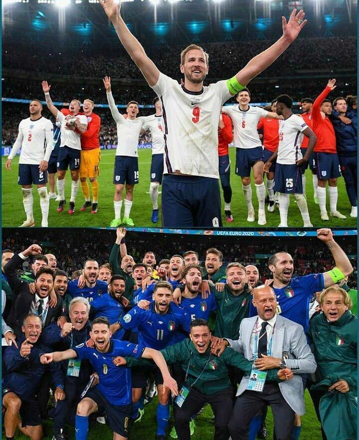 Review Semifinal Euro, Denmark Beri Kejutan Hingga Italia Tantang Inggris di Partai Puncak