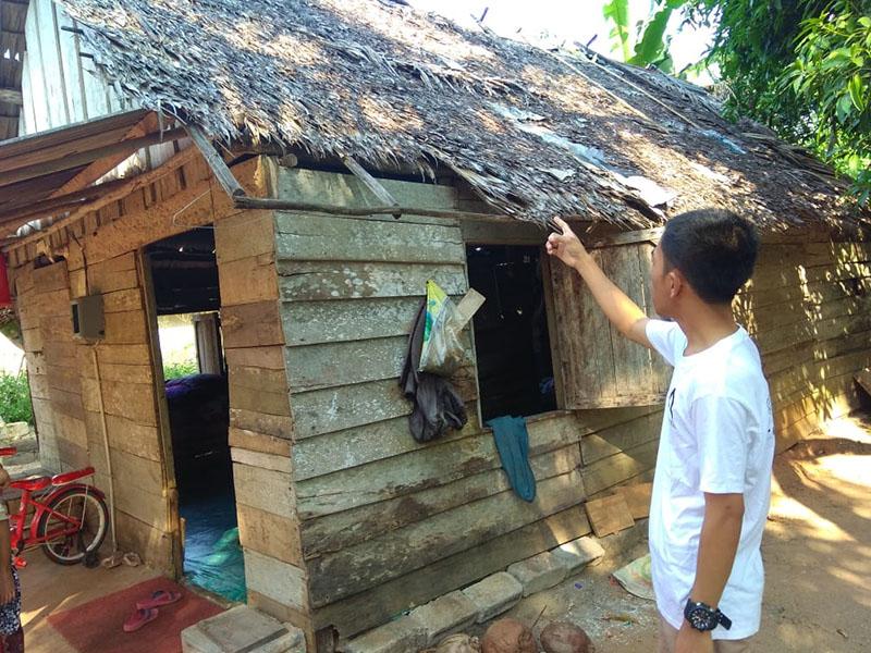 Sahabat JCA Jumat Sedekah Sambangi Rumah Icek Trisnawati