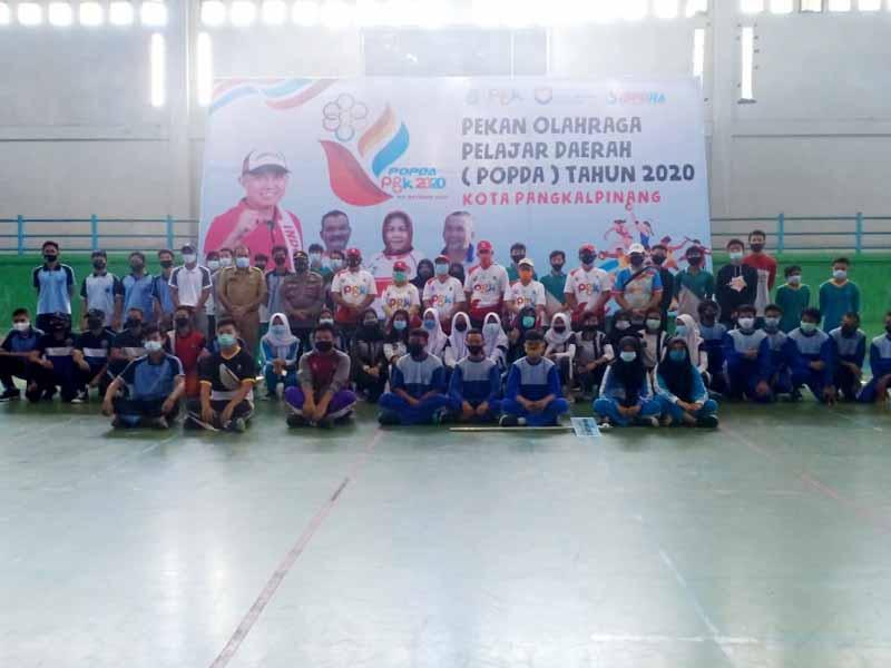 Sebanyak 432 Pelajar Berkompetisi dalam Popda 2020 Pangkalpinang