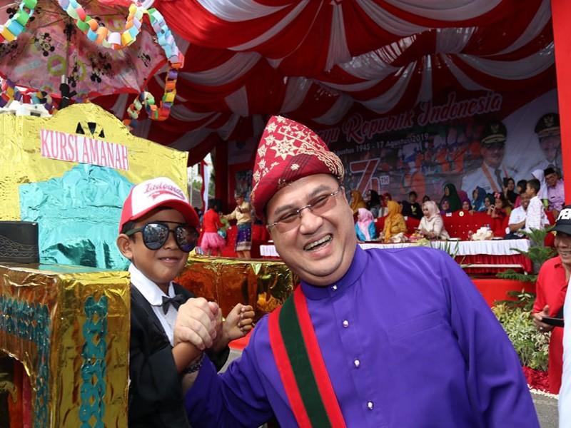 Sebelum Melakukan Ini, 162 Peserta Karnaval Wajib Atraksi di Depan Gubernur Babel