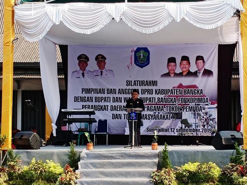 Sekalian Pamit, Ketua DPRD Bangka Minta Pemkab Kerja Profesional