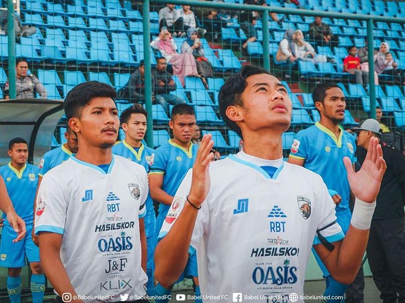 Sempat Dicurangi Wasit, Babel United Mampu Bungkam Tuang Rumah, Blitar Bandung United Takluk 1-0
