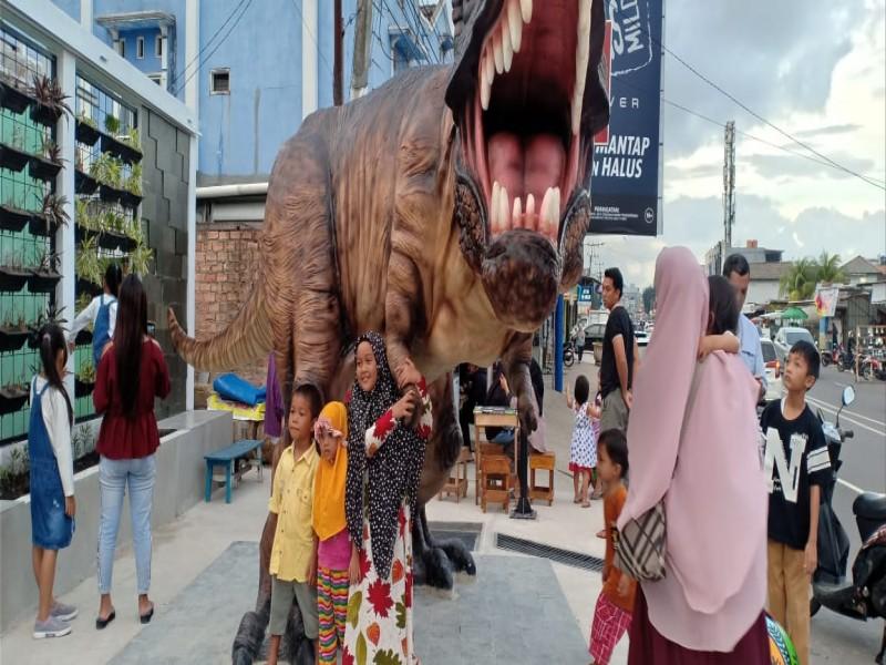Setelah Viral Telok Dinosaurus, Kini Pangkalpinang Punya Induk Dinosaurus, Lokasi Ini Paling Dicari Warga