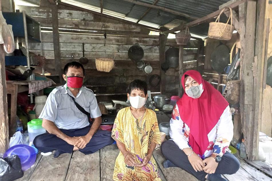 Sinergi dengan TNI, PT Timah Tbk Renovasi Rumah Aminah