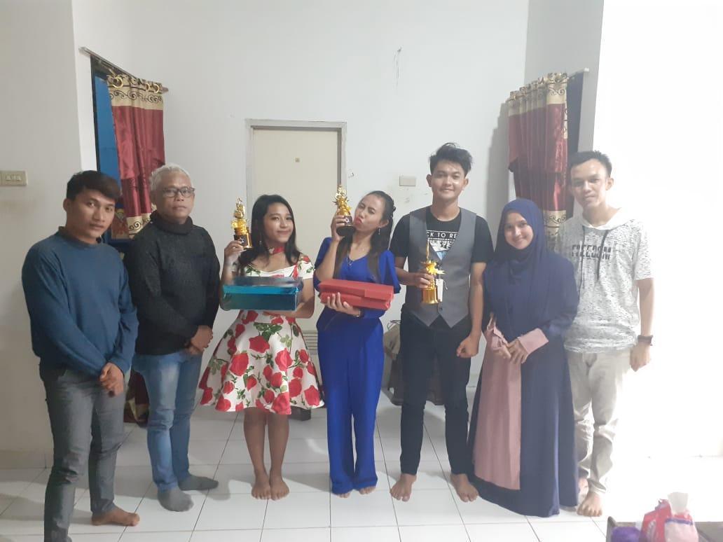 Singkirkan 31 Pedangdut, Pemuda Simpang Rimba Ini Rebut Juara Bintang Dangdut Online 2020