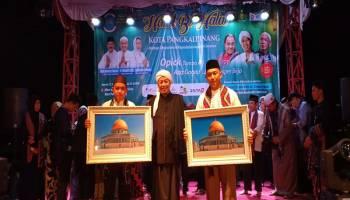 01 dan 02 Bersatu Untuk Indonesia Dalam Halalbihalal Kota Pangkal Pinang