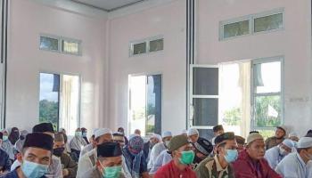 100 Remaja Masjid Ikuti Itikaf yang Digelar BKPRMI Bangka di Ponpes Hubbul Qur'an